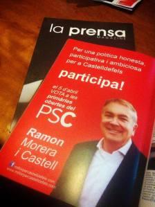La prensa. Ramon Morera